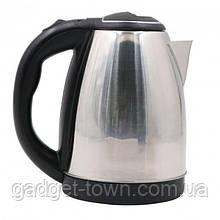 Чайник Haeger нерживейка 2.0 литра 2000 ватт дисковый