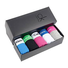 Набор мужских трусов (5 шт.) Calvin Klein в черной фирменной коробке