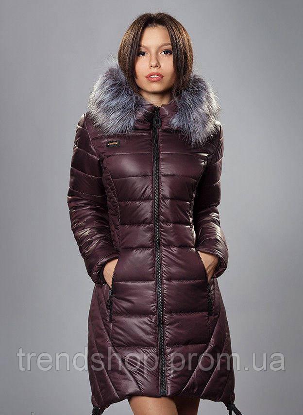 пуховик женский зимний фото