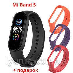 Фитнес браслет Mi Band Smart M5 реплика XIAOMI MI BAND 5 пульс, шагомер, измерение давления, умные часы, смарт