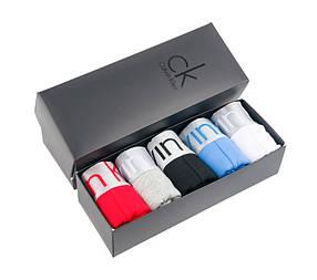 Подарочный набор нижнего белья (5 шт.) Calvin Klein в черной фирменной коробке
