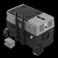 Компресорний автохолодильник Alpicool ENX42 (42 літри). Режим роботи +20℃ до -20℃ 12/24/220V, фото 3