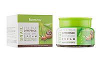 Увлажняющий крем для лица с улиточной слизью Farmstay Visible Difference Moisture Cream Snail 100 мл