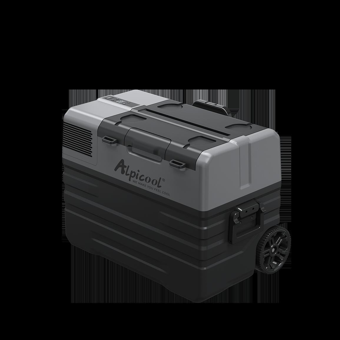 Компресорний автохолодильник Alpicool ENX42 (42 літри). Режим роботи +20℃ до -20℃ 12/24/220V