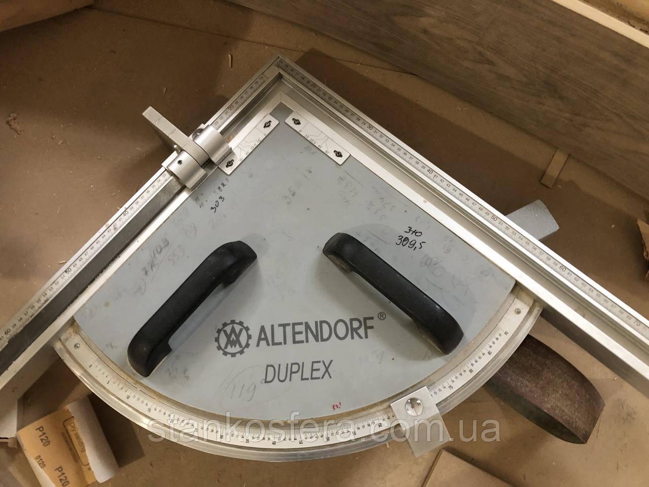 Двухсторонняя линейка Duplex б/у для угловых резов на форматно-раскроечный станок Altendorf