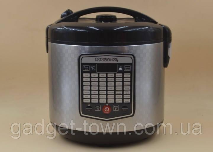 Мультиварка фритюрница Crownberg CB-5523 45 программ 5 л 1000W Silver/Black