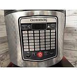 Мультиварка фритюрница Crownberg CB-5523 45 программ 5 л 1000W Silver/Black, фото 2