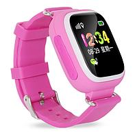 Детские смарт-часы Smart Baby Watch Q90 Pink Original