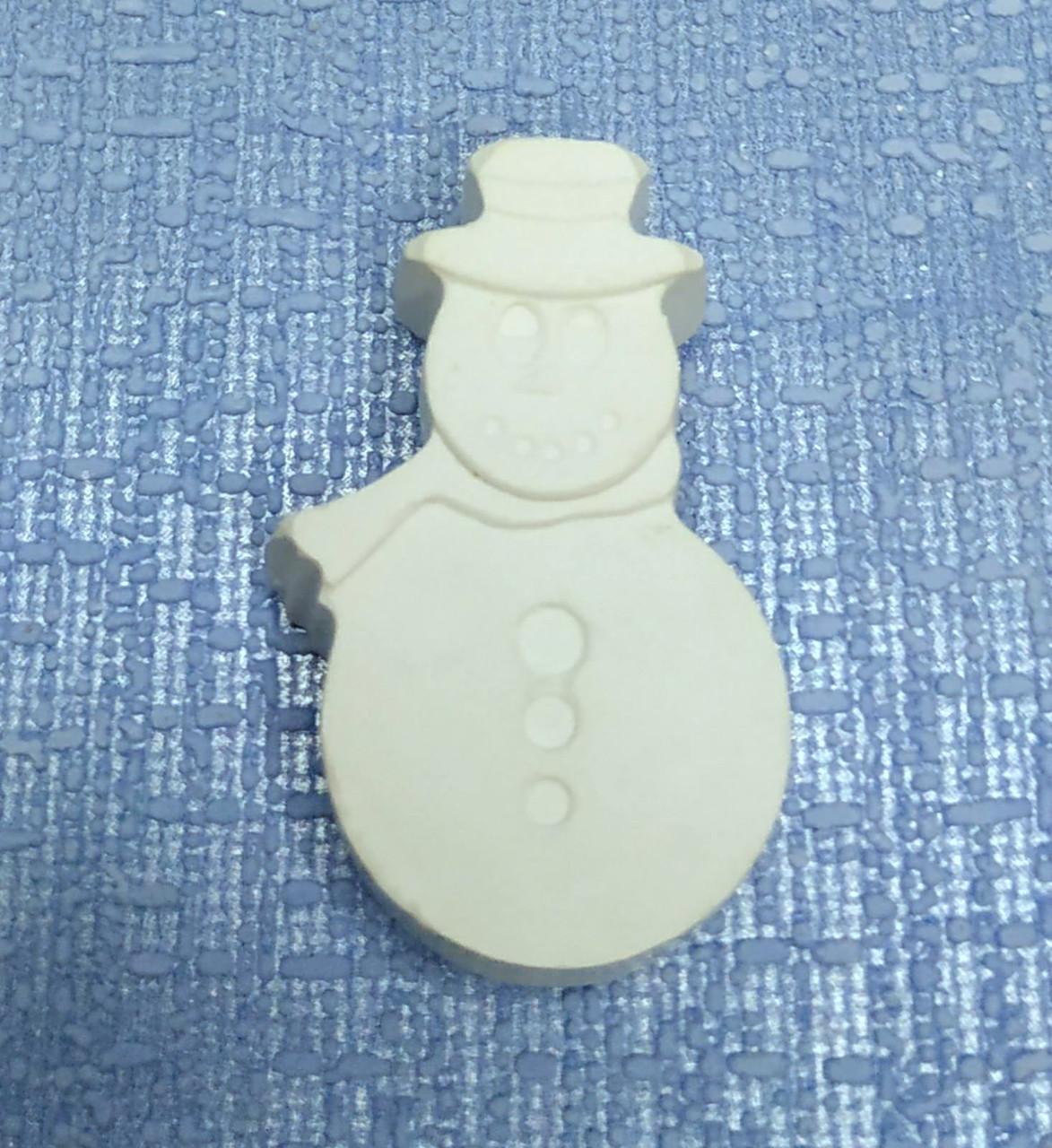 Гипсовая фигурка для раскрашивания Снеговик