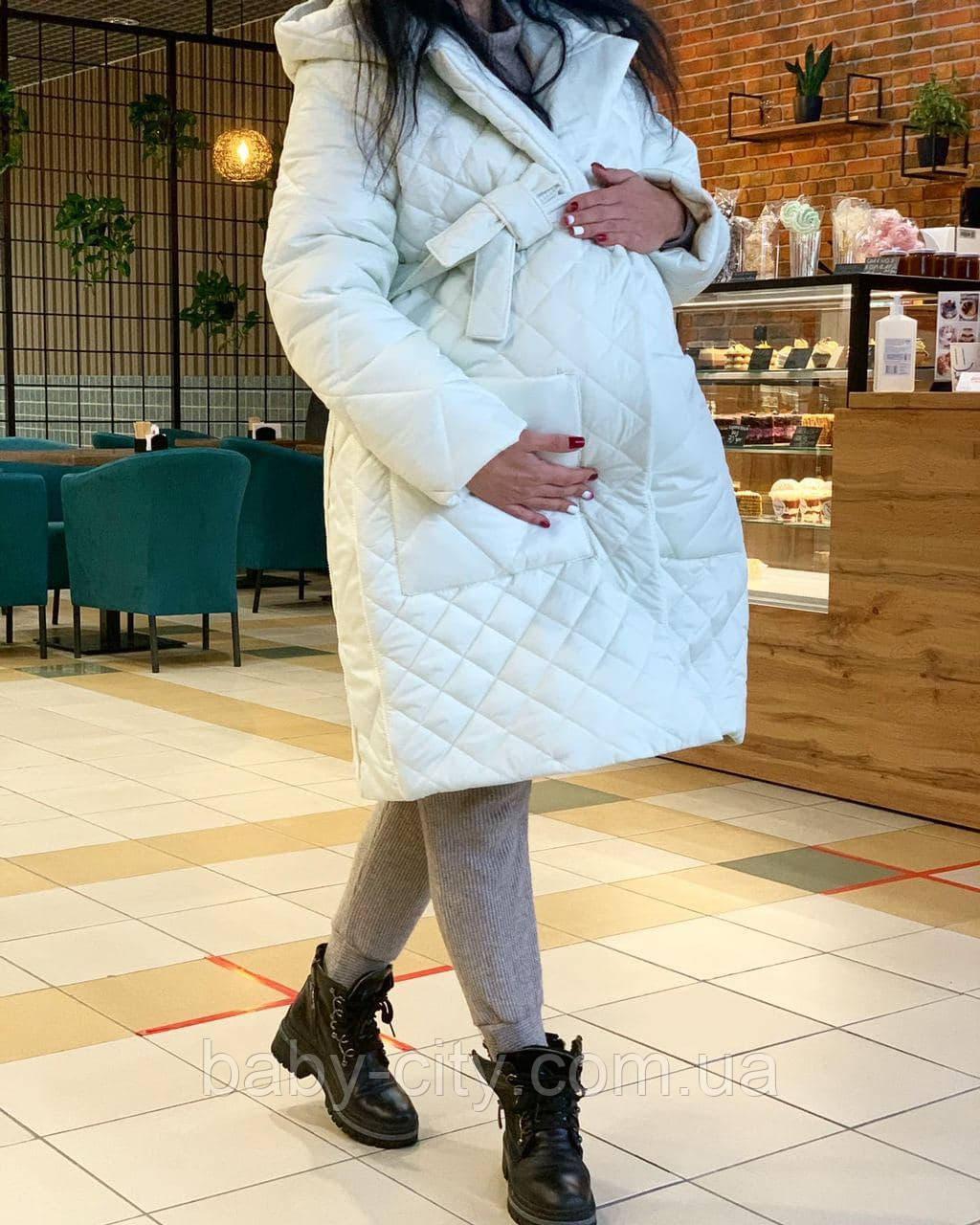 Пальто для беременных зимнее
