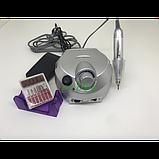 Фрезер Nail Master ZS-601 для манікюру і педикюру 35 Вт 35000 об/хв Срібло, фото 2