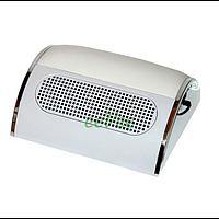 Вытяжка для маникюра Simei 858-5 20 Вт 3 вентилятора Белая пылесос настольный для ногтей