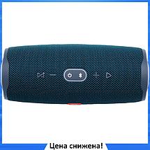 Портативная колонка JBL CHARGE 4 синяя - беспроводная Bluetooth колонка + Power Bank (Реплика), фото 3