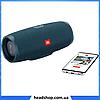 Портативная колонка JBL CHARGE 4 синяя - беспроводная Bluetooth колонка + Power Bank (Реплика), фото 4