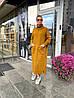 Теплое БАТАЛЬНОЕ вязаное платье под горло с 44 по 62 размер, фото 3