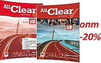 Английский язык / All Clear for Ukraine / Student's+Workbook. Учебник+Тетрадь (комплект), 5 / Macmillan