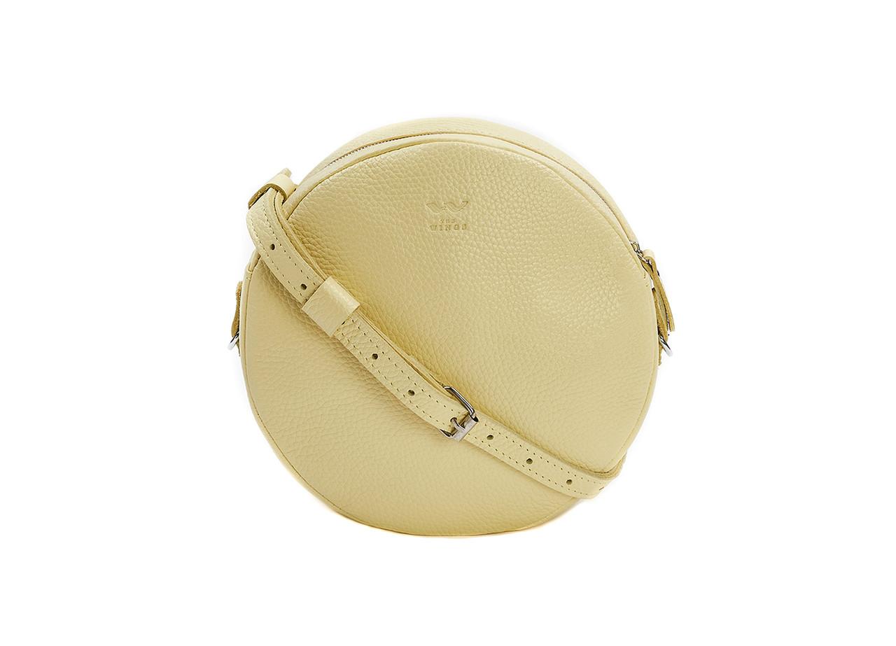 Міні сумка Bubble лимонна флотар