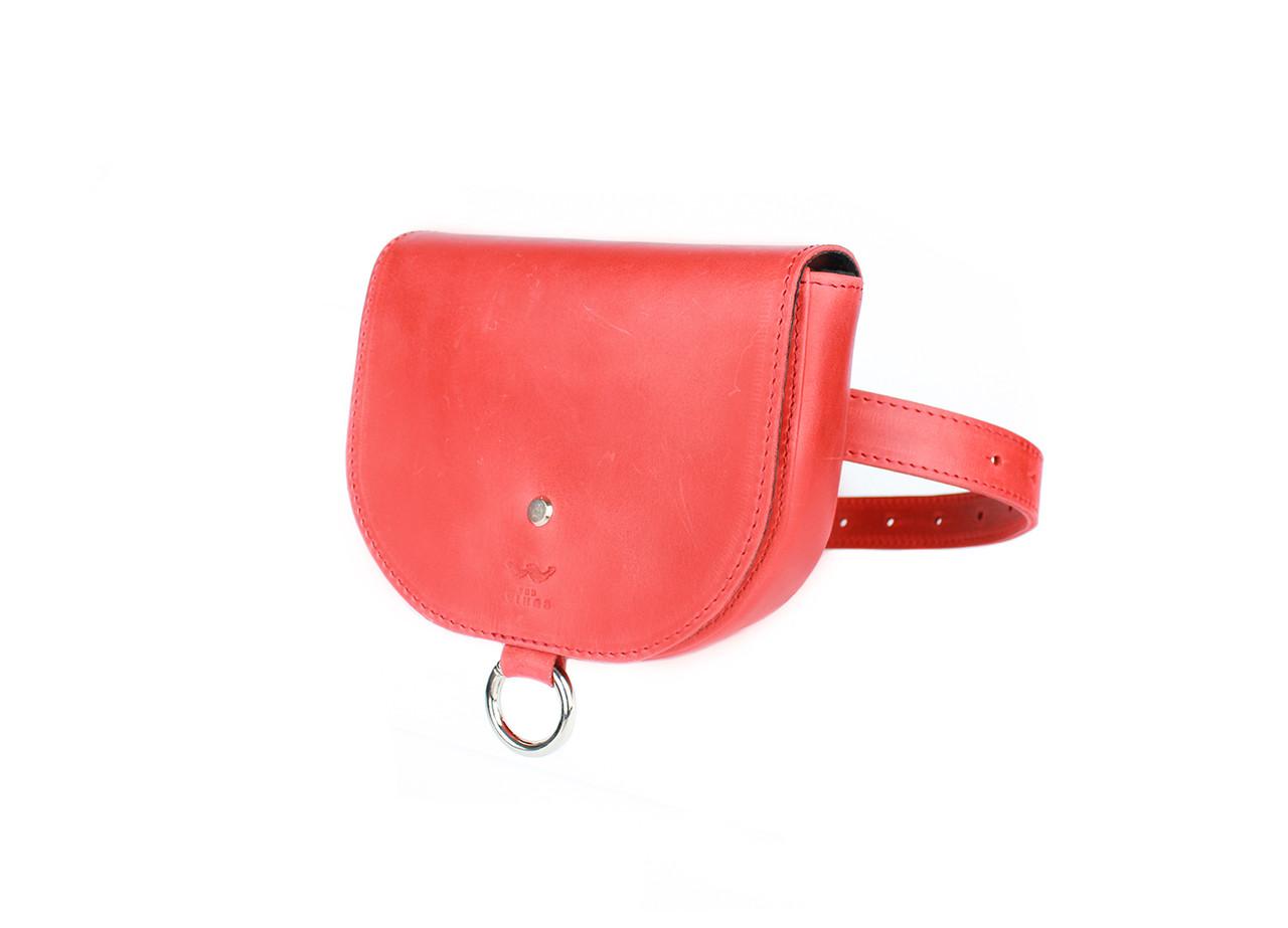 Жіноча шкіряна сумка Ruby S червона вінтажна