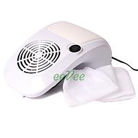 Вытяжка маникюрная Simei 858-9 40 Вт Белый. Пылесос вентилятор для маникюра настольный для ногтей