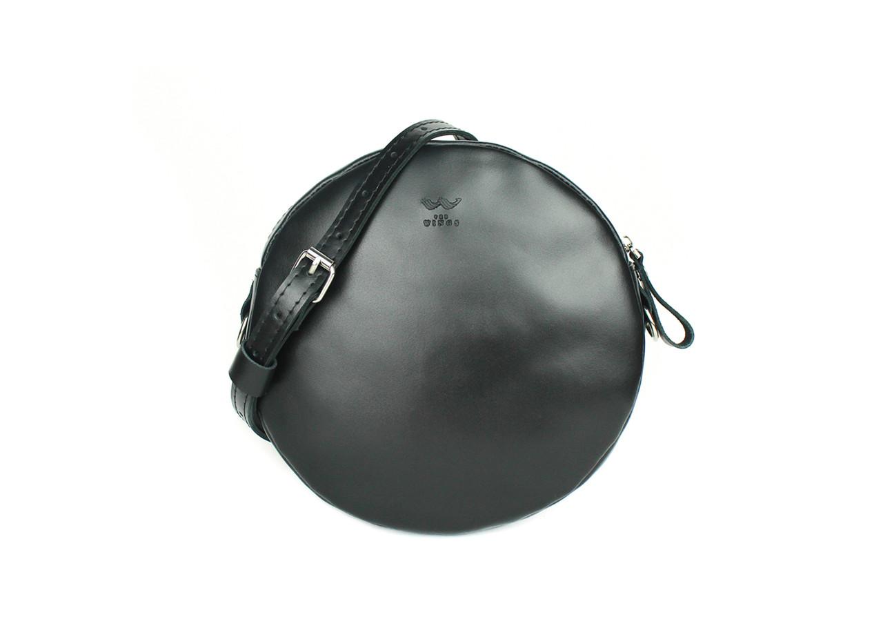 Міні сумка Bubble чорна