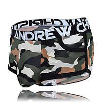 Мужские камуфляжные боксеры Camouflage Pocket Boxer от Andrew Christian, фото 2