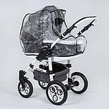 Универсальная коляска 2 в 1 Victoria Gold 0186 Серый (L20), фото 8