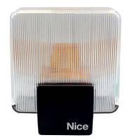 Лампа сигнальная ELAC для ворот и шлагбаумов NICE Италия