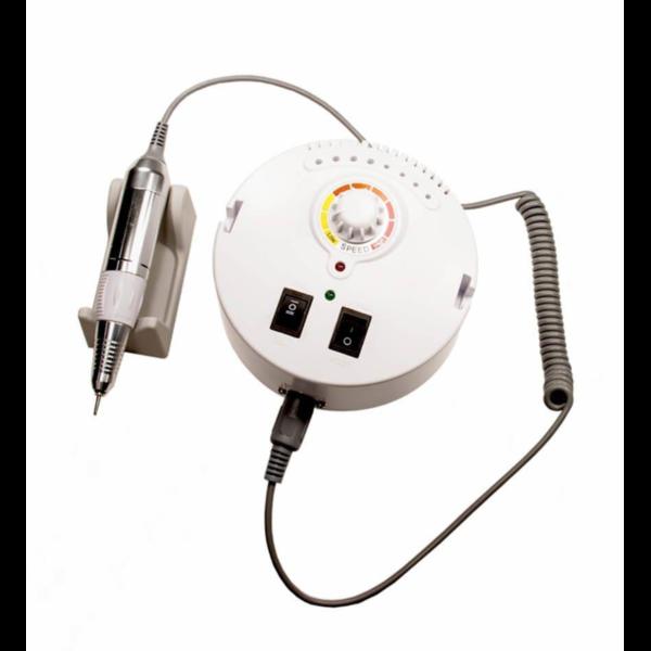 Фрезер ZS-605 Nail Master 65 Вт 35000 об/хв для манікюру і педикюру круглий Білий