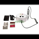 Фрезер ZS-605 Nail Master 65 Вт 35000 об/хв для манікюру і педикюру круглий Білий, фото 2