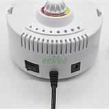 Фрезер ZS-605 Nail Master 65 Вт 35000 об/хв для манікюру і педикюру круглий Білий, фото 4