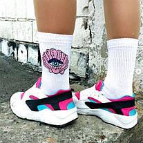 """Разнопарные білі шкарпетки """"Ракушка-пляшка"""" від SOX, фото 3"""