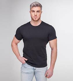 Мужская футболка Premium Quality черного цвета