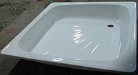Акриловый поддон для душа эконом, квадратный 80х80х15