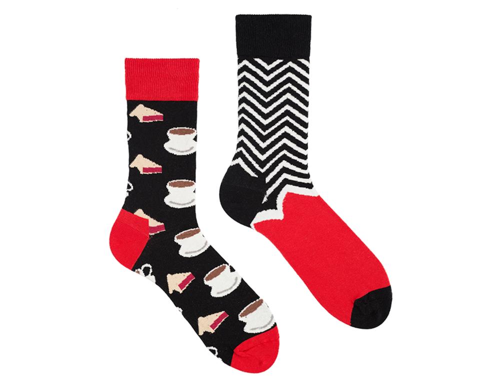 """Різно парні шкарпетки """"Double coffe"""" від Sammy-Icon"""
