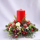 Веточка маленькая с красными ягодами 4 грн от 20 шт., фото 6