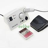 Фрезер для манікюру Nail Drill pro ZS-602 45 Вт 35000 оборот Білий, фото 2