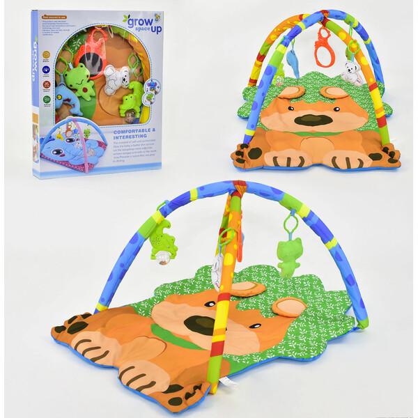 Коврик развивающий игровой Baby Carpet 116 со световыми и звуковыми эффектами