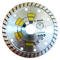 Диск алмазный отрезной BOSCH Universal Turbo 125х22 мм (2609258408)