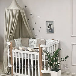Детское постельное белье Happy night Звезда беж, Маленькая соня