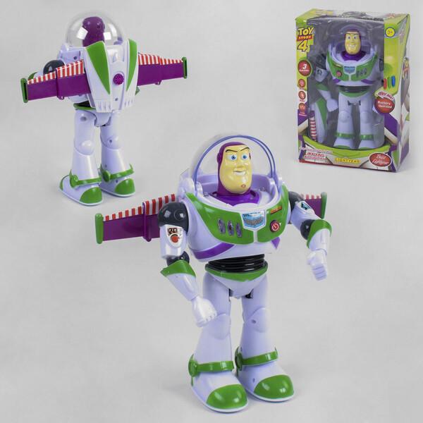 Баз фігурка Історія Іграшок Toy Story Робот складаний рухливий зі світлом і звуком (34402)
