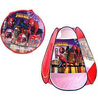 Детская палатка игровая For Baby Spider Man 120х110х110 см в сумке (8006 SP)