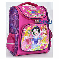 Школьный рюкзак для девочки ортопедический каркасный ранец 1 2 3 класс Розовый (67817)