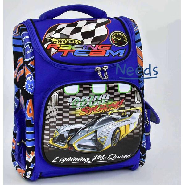 Шкільний рюкзак для хлопчика ортопедичний каркасний ранець 1 2 3 клас Синій (67317)