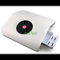 Вытяжка для маникюра Simei 858-2 30 Вт Белая пылесос вентилятор настольный для ногтей