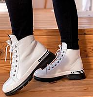 Женские белые ботинки, фото 1