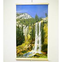 Обогреватель картина настенный Трио Водопад электрический инфракрасный пленочный карбоновый 400 Вт