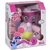 Пони игрушка детская интерактивная Lovely Pony мягкотелый музыкальный Розовый (7957)