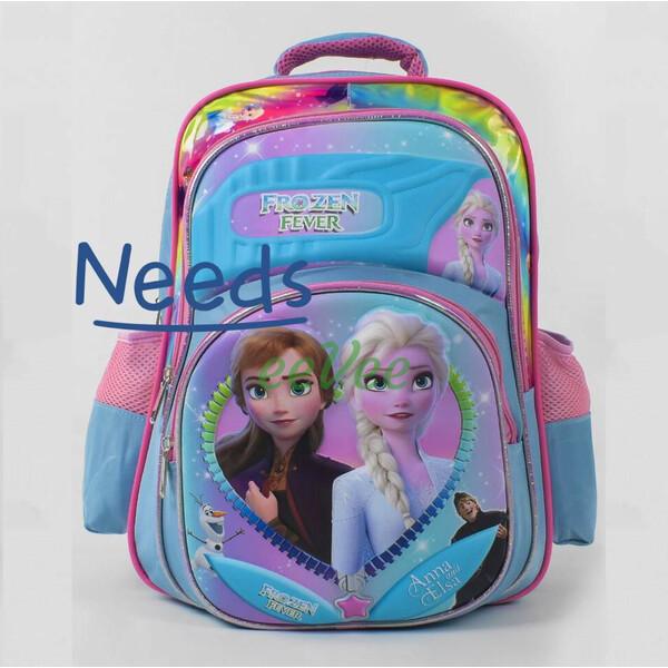 Рюкзак шкільний ранець для дівчинки 1 2 3 клас Блакитний (86673)