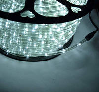 Светодиодная LED лента 100м Дюралайт 220В Белая