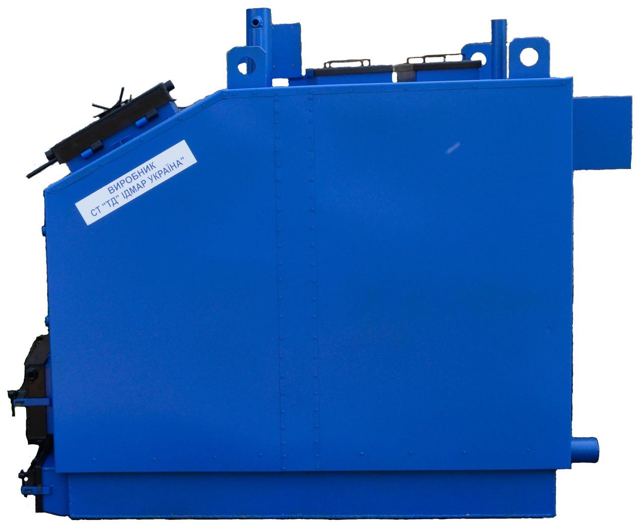 Котел твердотопливный 800 кВт. KW-GSN (c принудительной подачей воздуха и авторегулировкой)